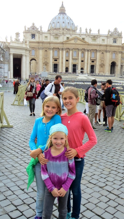 Outside Vatican City