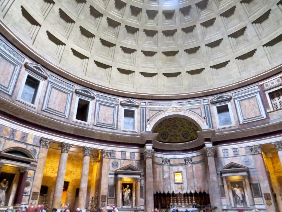 Another angle of the Pantheon