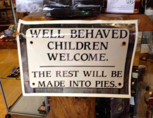 Bakery disclaimer