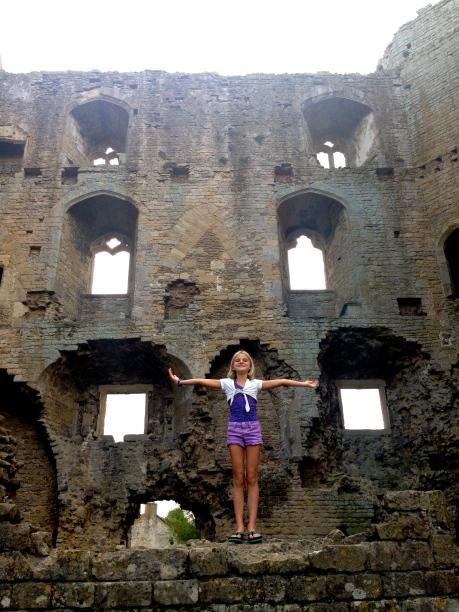 Queen of Nunney Castle!