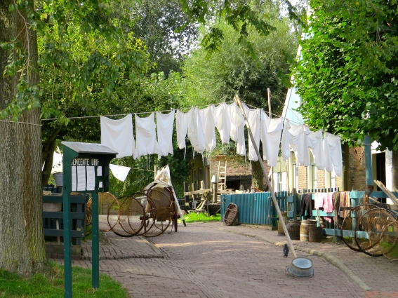 Laundry and fishing nets