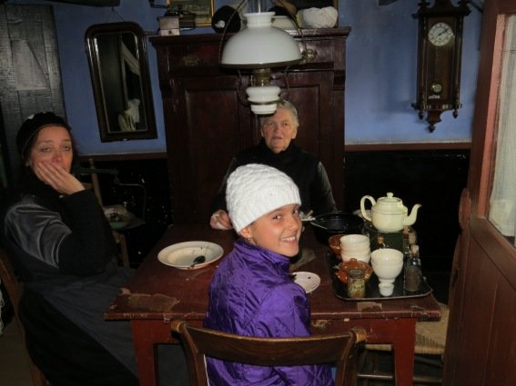 Schuyler was welcomed into the home of a widow and her sister