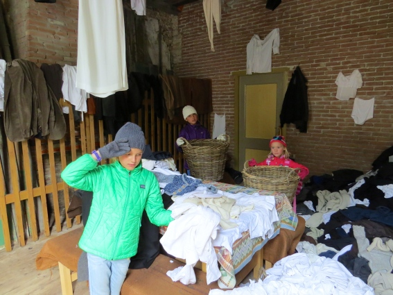 Life is hard for the laundresses