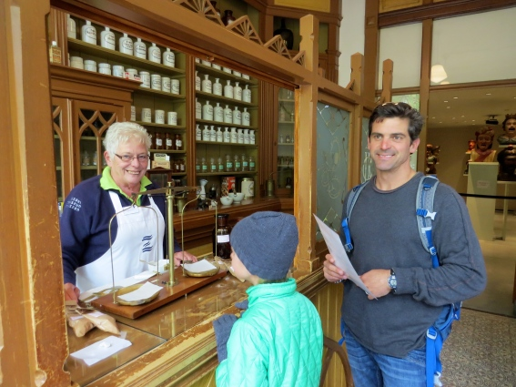 At the old apothecary