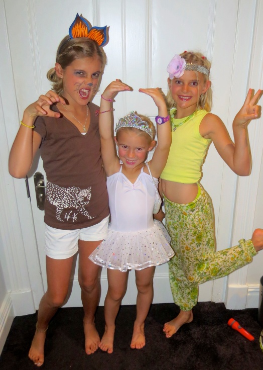 Cheetah, Ballerine, and Hippie