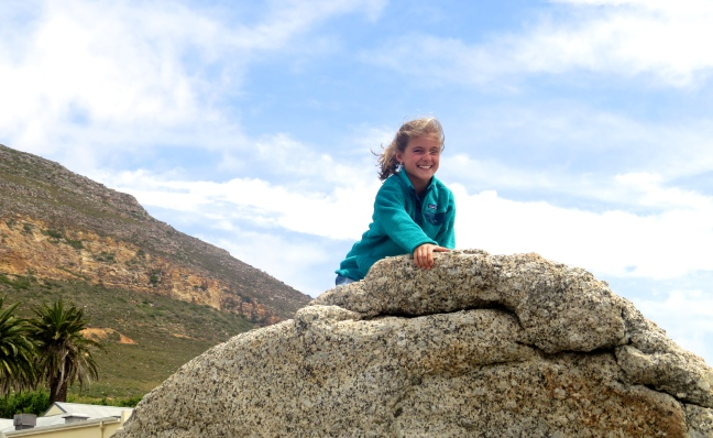 Boulders to climb