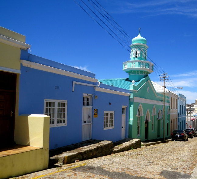 One of many mosques throughout the neighborhood