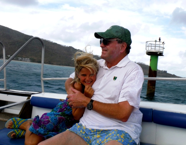 A snuggle on the way to the reef