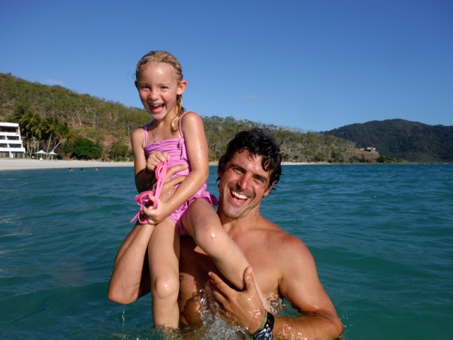 Endless smiles in the warm Coral Sea