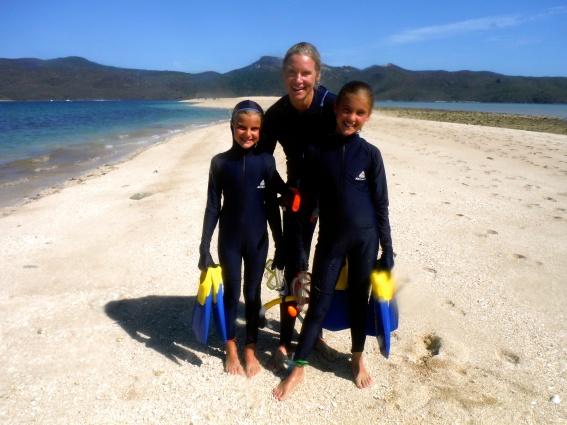 Snorkeling at Langford Reef