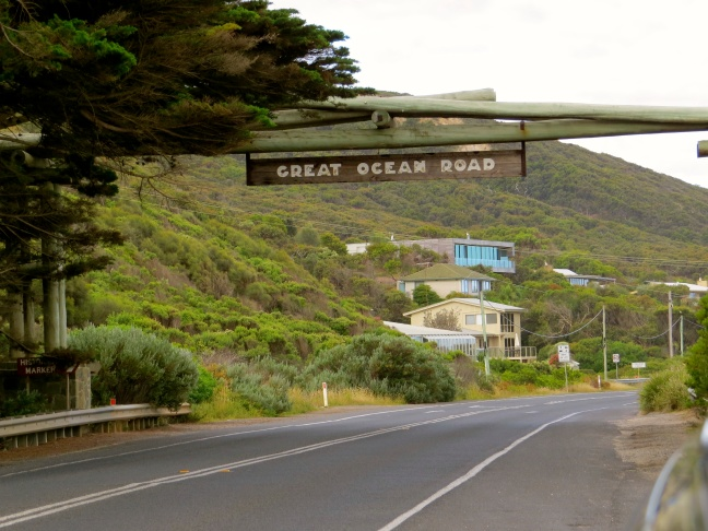 Welcome to the Great Ocean Road, ye happy travelers