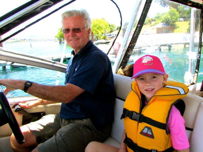 Thayer was Davy's First Mate for the entire ride
