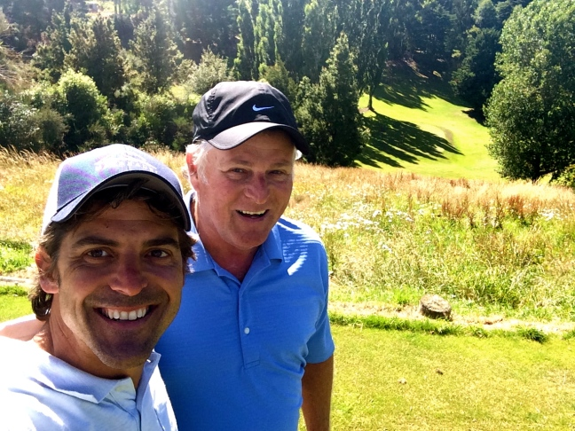 Father/Son golf bliss