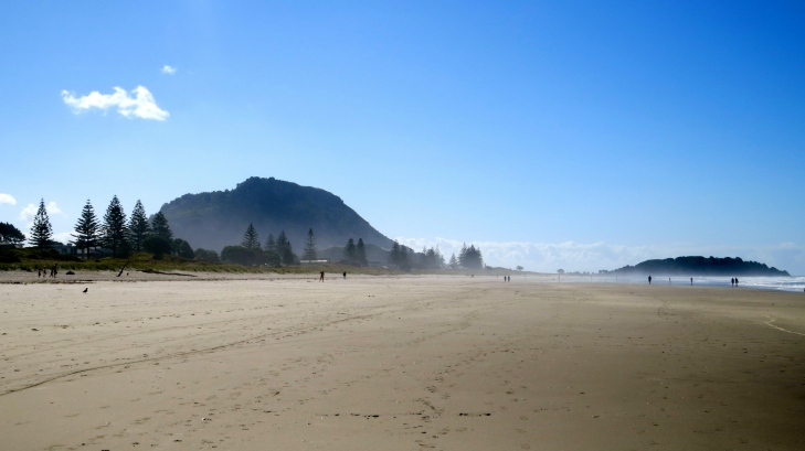 "Photo of ""The Mount"" at the end of our beach"