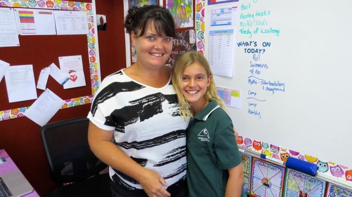 My teacher, Ms. Price
