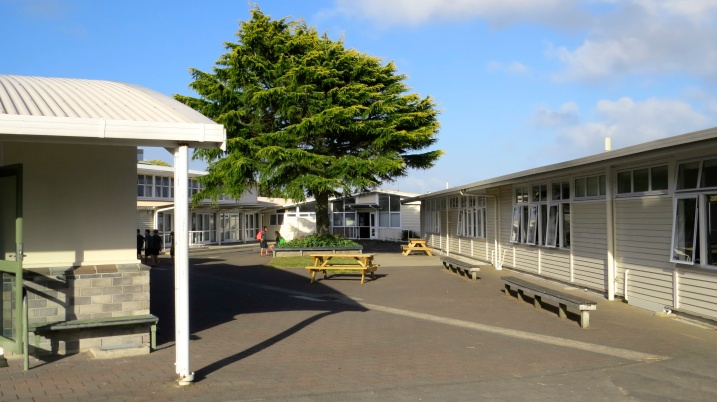 Photo of school grounds