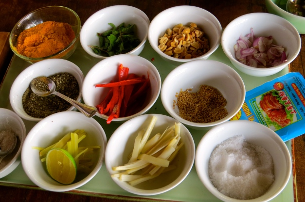 Traditional ingredients - so colorful and healthy!