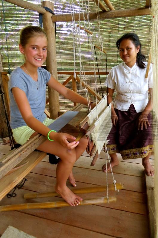 Schuyler weaving