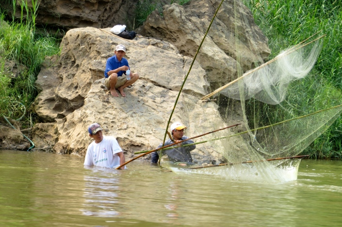 Fishing provides the bulk of the Lao people's protein