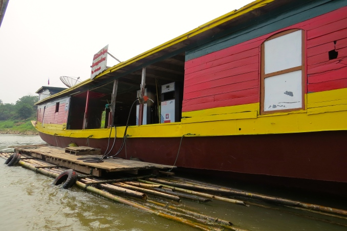 Mekong gas station