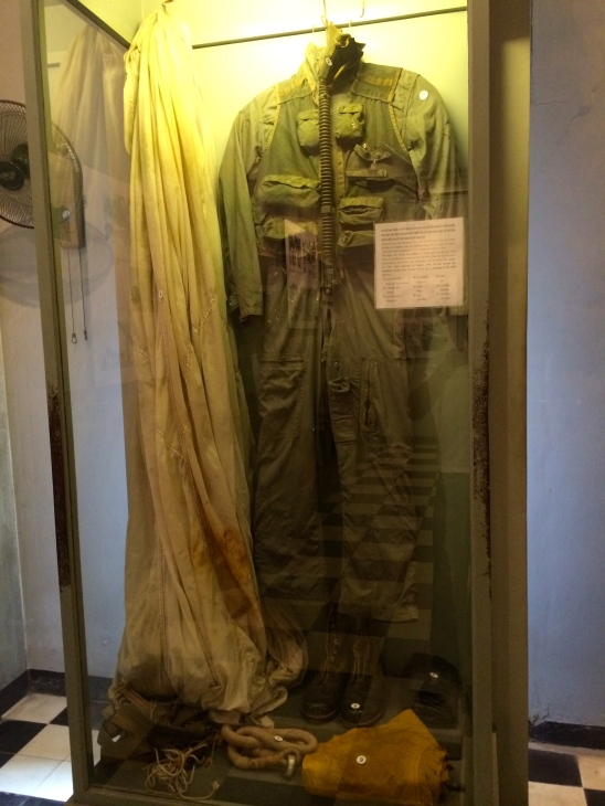 Flight suit of Sen. John McCain on display