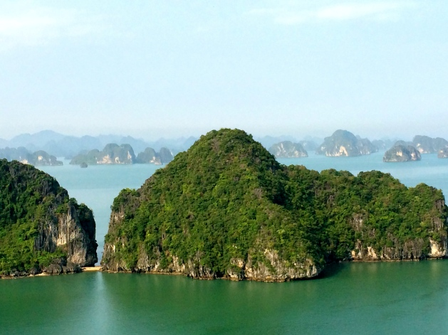 View overlooking Halong Bay