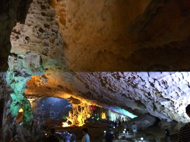 Inside Surprise Cave