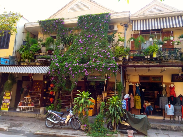 Hoi An storefronts