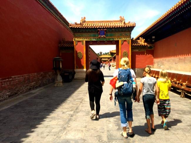 Wandering through the concubines' quarters
