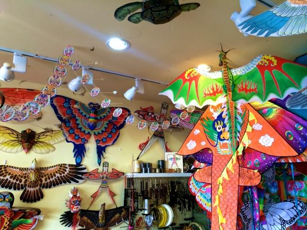Beijing kite shop