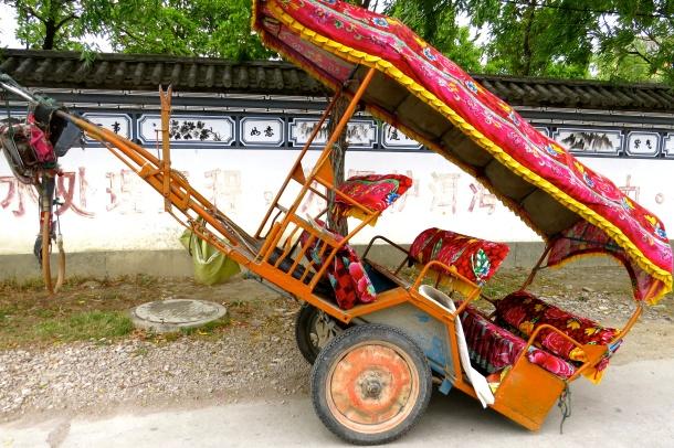 Cart awaiting its horse