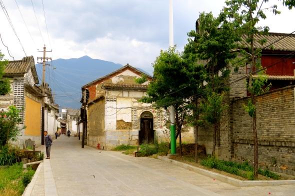 Xizhou Village street