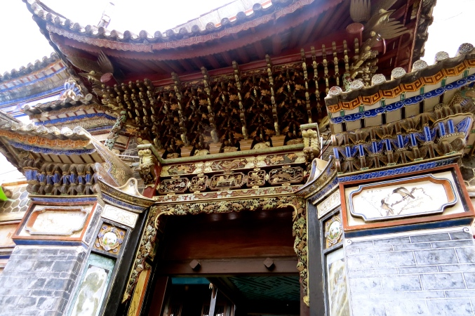 Incredible craftsmanship and decor in the Bai structures