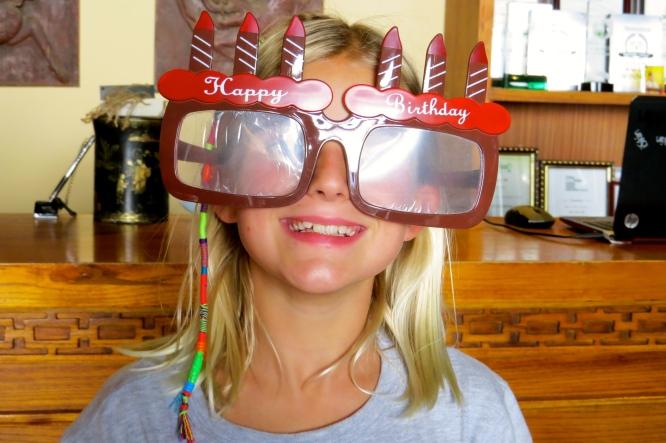 Zoe is the birthday girl