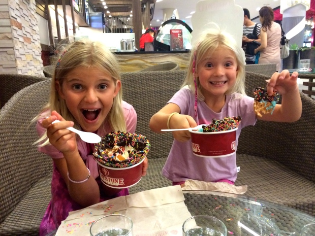 Coldstone Creamery - just like in NH!