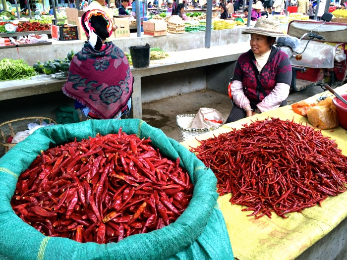 Don't forget your fresh chili peppers