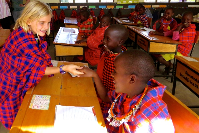 School in Majo Moto, Kenya