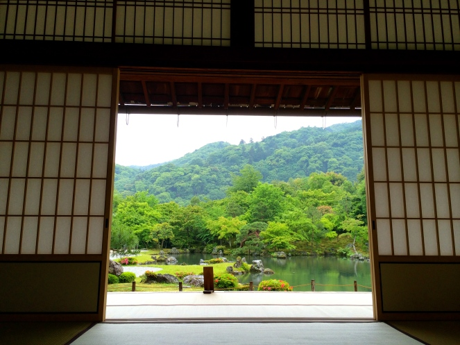 View from the meditation room