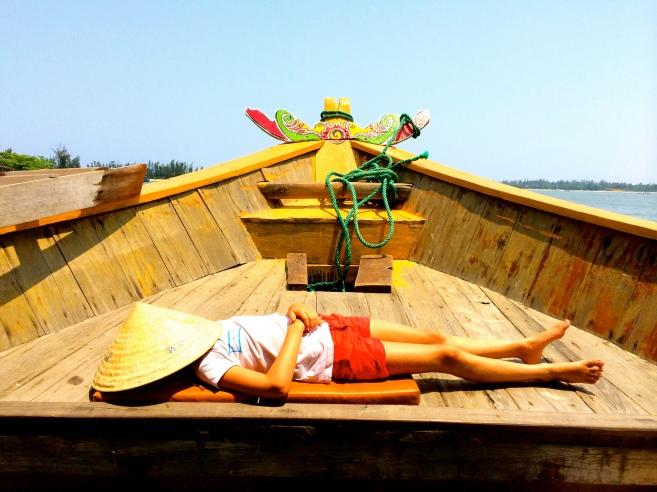 Fishing boat, Vietnam